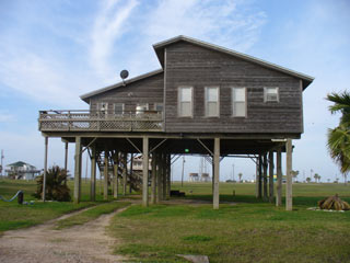 Galveston Island house